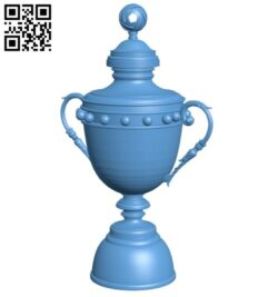 Cup saudi league B008893 file obj free download 3D Model for CNC and 3d printer