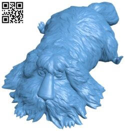 Dog been B008829 file obj free download 3D Model for CNC and 3d printer