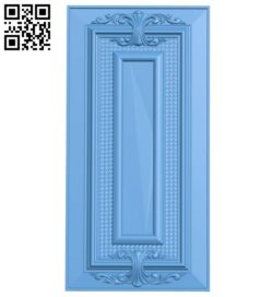 Door pattern A005796 download free stl files 3d model for CNC wood carving