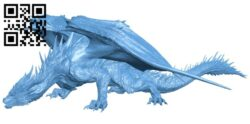 Dragon B008696 file stl free download 3D Model for CNC and 3d printer