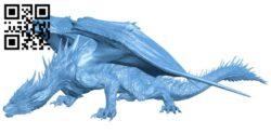 Dragon B008696 file stl free download 3D Model for CNC and 3d printer