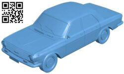 GAZ – 2410 Volga – car B008676 file stl free download 3D Model for CNC and 3d printer