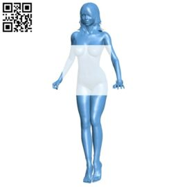 Girl B008631 file stl free download 3D Model for CNC and 3d printer