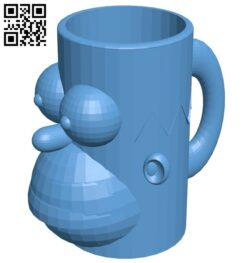 Homer cup B008624 file stl free download 3D Model for CNC and 3d printer