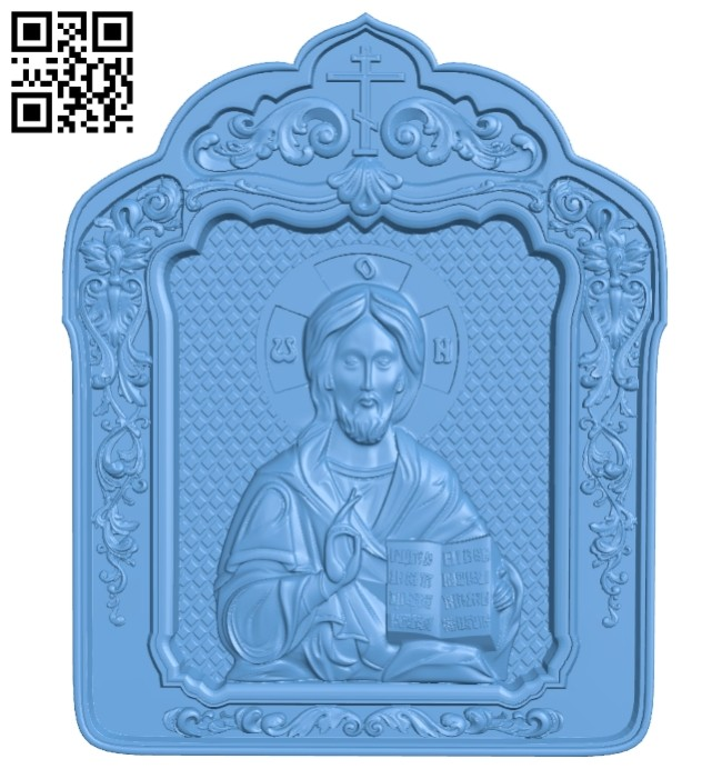 Icon John A005693 download free stl files 3d model for CNC wood carving