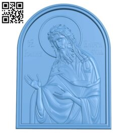 Icon Saint John the Baptist A005696 download free stl files 3d model for CNC wood carving