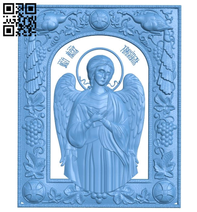 Icon angel A005691 download free stl files 3d model for CNC wood carving