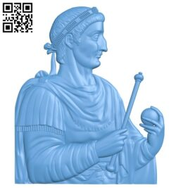King painting A005763 download free stl files 3d model for CNC wood carving