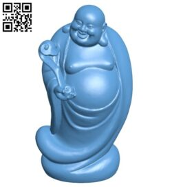 Laughing buddha B008662 file stl free download 3D Model for CNC and 3d printer