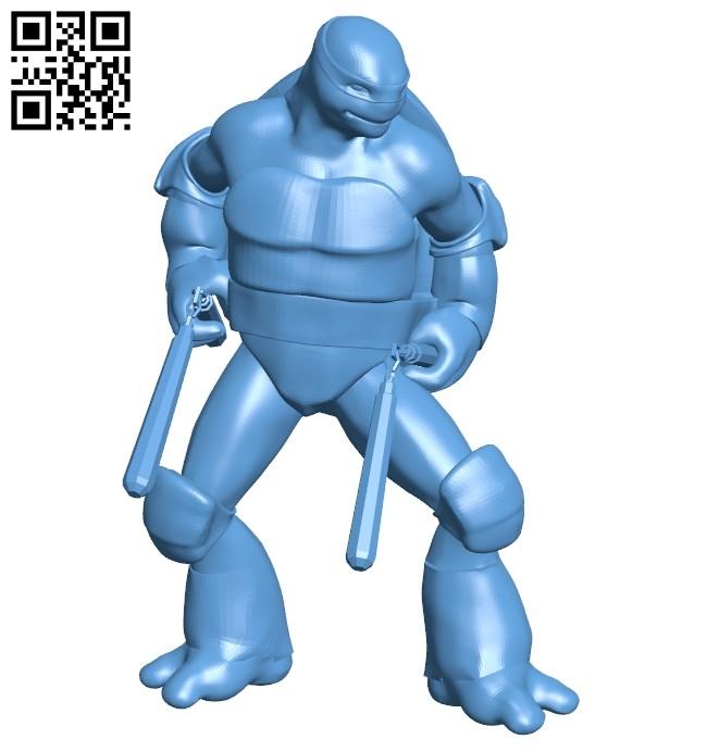 Merged - Michelangelo B008710 file obj free download 3D Model for CNC and 3d printer