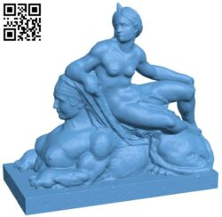 Met venus and the sphinx B008875 file obj free download 3D Model for CNC and 3d printer