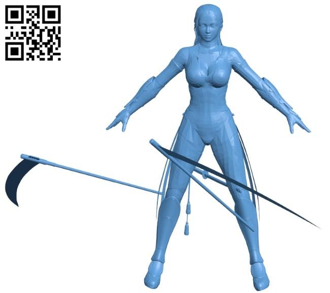 Miss Itami B008655 file stl free download 3D Model for CNC and 3d printer