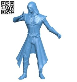 Mr Ermac B008711 file obj free download 3D Model for CNC and 3d printer