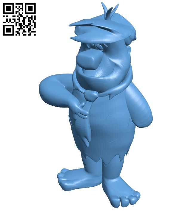 Mr Fred B008656 file stl free download 3D Model for CNC and 3d printer