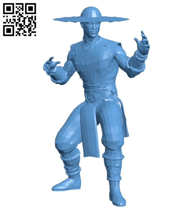 Mr Kung Lao B008668 file stl free download 3D Model for CNC and 3d printer