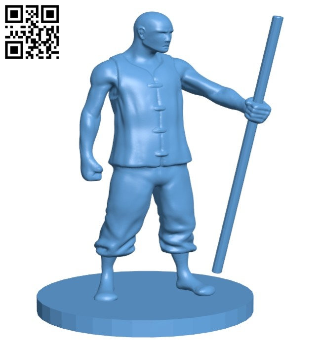 Mr Monk B008641 file stl free download 3D Model for CNC and 3d printer