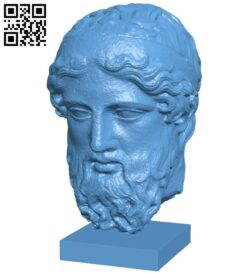 Ny mét marble head of a herm B008823 file obj free download 3D Model for CNC and 3d printer
