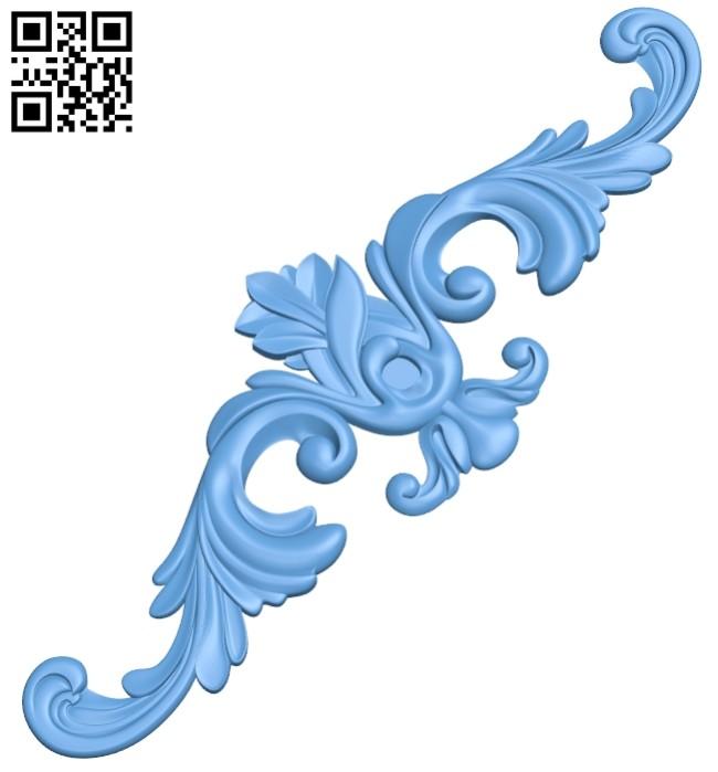 Pattern decor design A005682 download free stl files 3d model for CNC wood carving