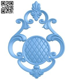 Pattern decor design A005686 download free stl files 3d model for CNC wood carving