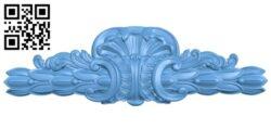 Pattern decor design A005730 download free stl files 3d model for CNC wood carving