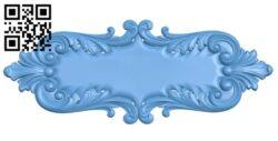 Pattern decor design A005732 download free stl files 3d model for CNC wood carving