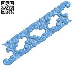 Pattern decor design A005733 download free stl files 3d model for CNC wood carving