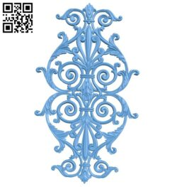Pattern decor design A005735 download free stl files 3d model for CNC wood carving