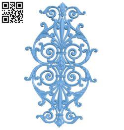 Pattern decor design A005735 download free stl files 3d model for CNC wood carving