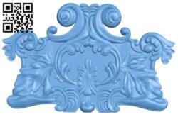 Pattern decor design A005737 download free stl files 3d model for CNC wood carving
