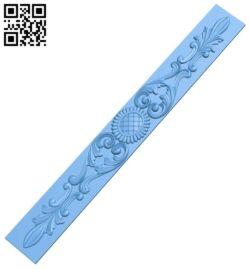 Pattern decor design A005739 download free stl files 3d model for CNC wood carving