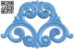 Pattern decor design A005770 download free stl files 3d model for CNC wood carving