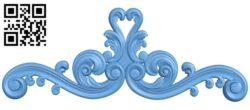 Pattern decor design A005771 download free stl files 3d model for CNC wood carving