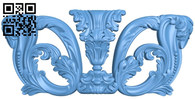 Pattern decor design A005772 download free stl files 3d model for CNC wood carving