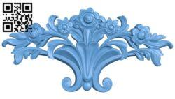 Pattern decor design A005775 download free stl files 3d model for CNC wood carving
