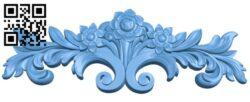 Pattern decor design A005776 download free stl files 3d model for CNC wood carving