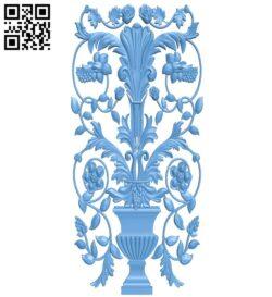 Pattern decor design A005830 download free stl files 3d model for CNC wood carving