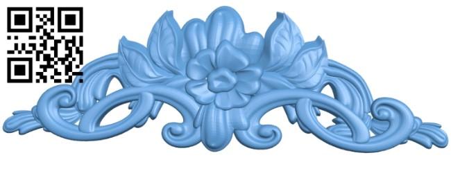 Pattern decor design A005836 download free stl files 3d model for CNC wood carving