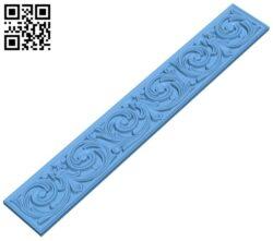 Pattern decor design A005851 download free stl files 3d model for CNC wood carving