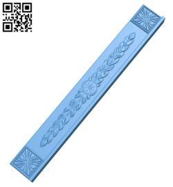 Pattern decor design A005853 download free stl files 3d model for CNC wood carving