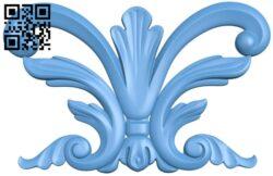 Pattern decor design A005856 download free stl files 3d model for CNC wood carving