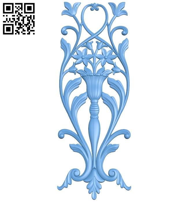 Pattern decor design A005860 download free stl files 3d model for CNC wood carving