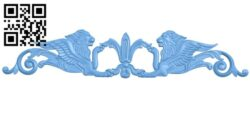 Pattern decor design lion A005738 download free stl files 3d model for CNC wood carving