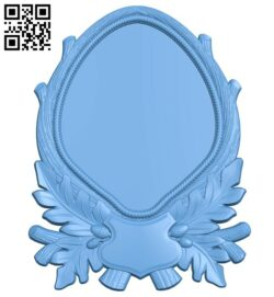Picture frame or mirror A005709 download free stl files 3d model for CNC wood carving