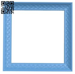 Picture frame or mirror A005714 download free stl files 3d model for CNC wood carving