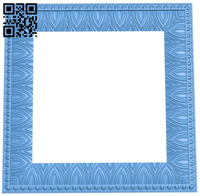 Picture frame or mirror A005716 download free stl files 3d model for CNC wood carving