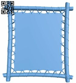 Picture frame or mirror A005812 download free stl files 3d model for CNC wood carving