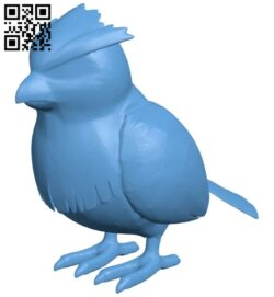 Pidgey bank – pokemon B008647 file stl free download 3D Model for CNC and 3d printer