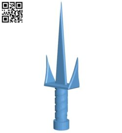 Short knife B008868 file obj free download 3D Model for CNC and 3d printer