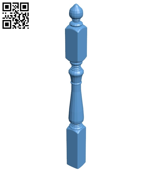 Table legs and chairs A005806 download free stl files 3d model for CNC wood carving