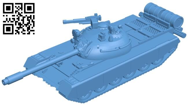 Tank TR-580 B008731 file obj free download 3D Model for CNC and 3d printer
